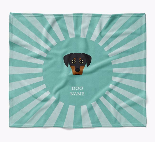 Personalized Rays Blanket for your Blue Lacy