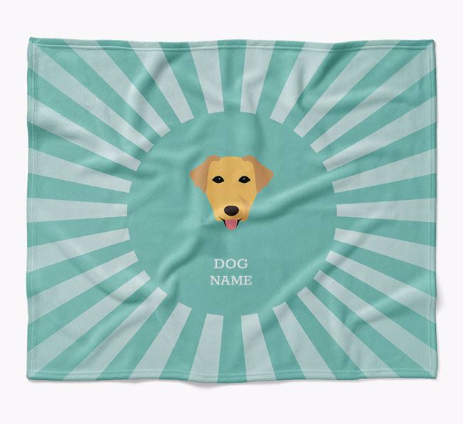 Personalized Rays Blanket for your Borador