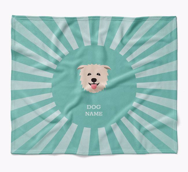Personalized Rays Blanket for your Glen Of Imaal Terrier