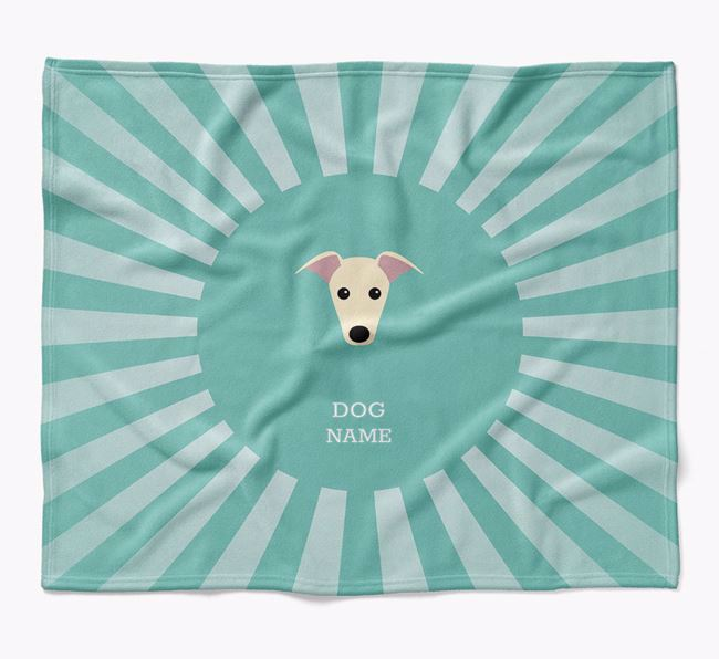 Personalized Rays Blanket for your Greyhound