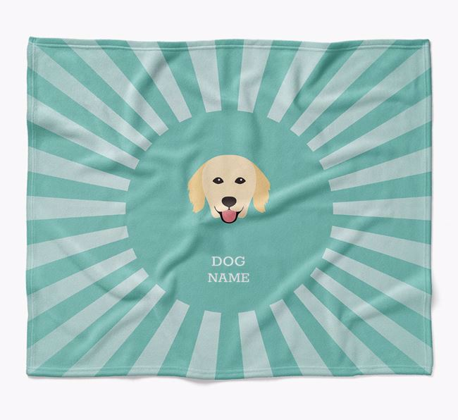 Personalized Rays Blanket for your Hovawart