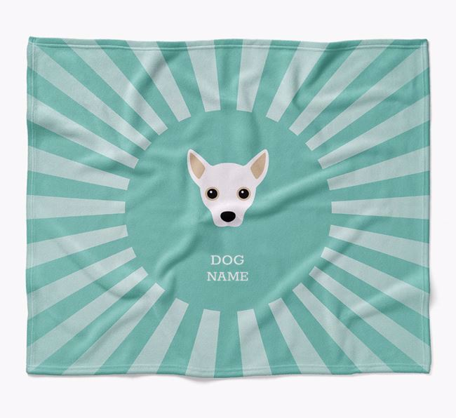Personalized Rays Blanket for your Jackahuahua