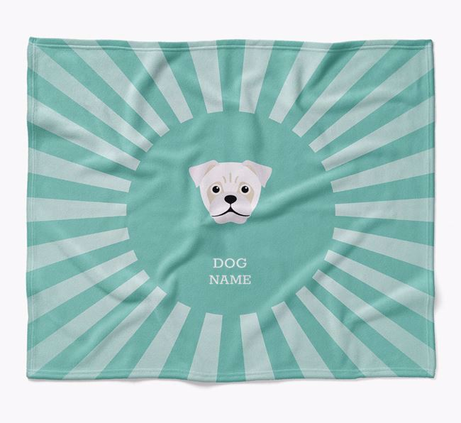 Personalized Rays Blanket for your Jug