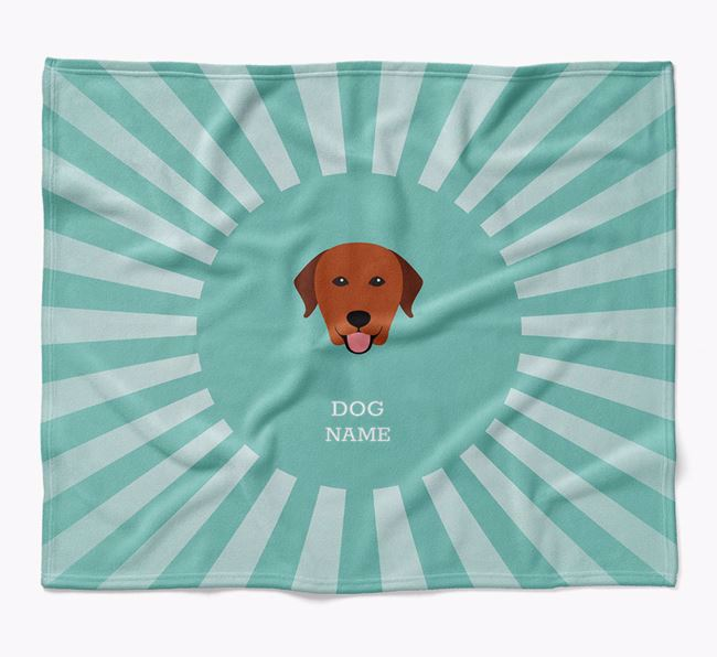 Personalized Rays Blanket for your Labrador Retriever