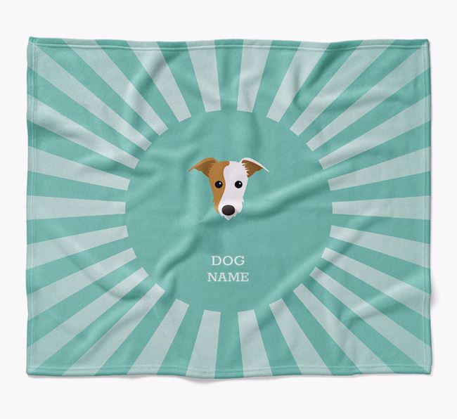 Personalized Rays Blanket for your Lurcher