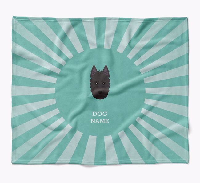 Personalized Rays Blanket for your Scottish Terrier