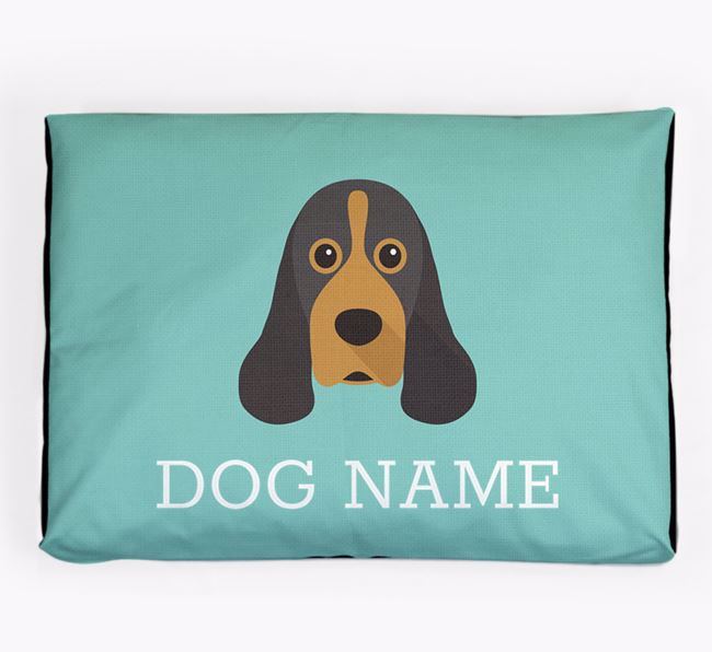 Personalised Icon Dog Bed for your American Cocker Spaniel