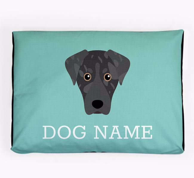 Personalised Icon Dog Bed for your American Leopard Hound