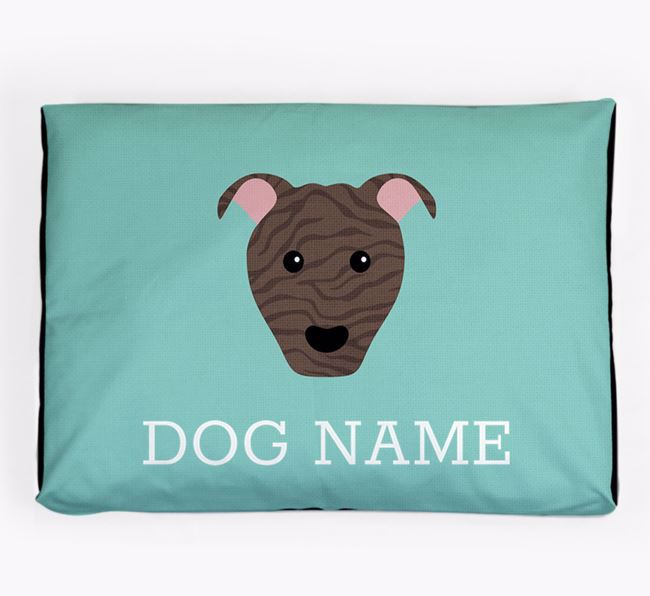 Personalised Icon Dog Bed for your American Pit Bull Terrier
