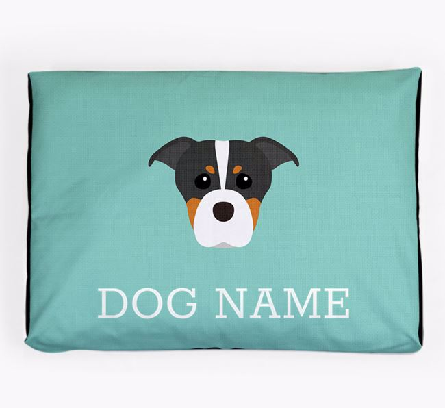 Personalised Icon Dog Bed for your American Staffordshire Terrier