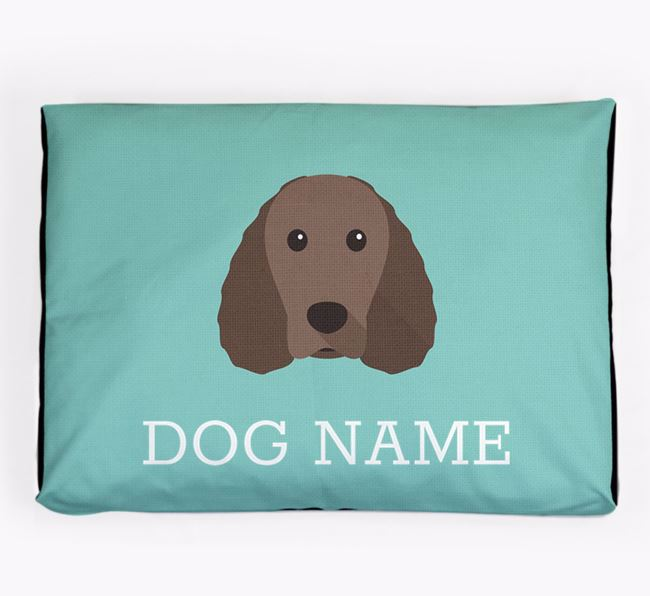 Personalised Icon Dog Bed for your American Water Spaniel