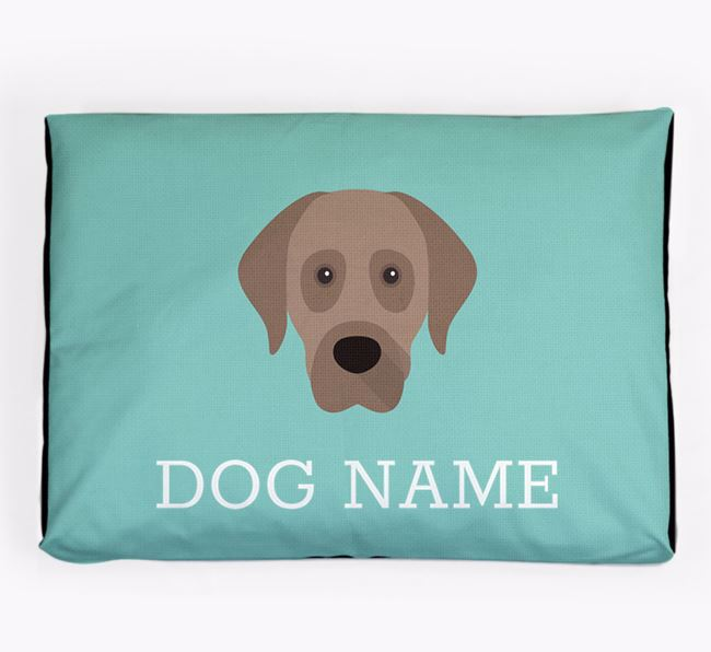 Personalised Icon Dog Bed for your Anatolian Shepherd Dog