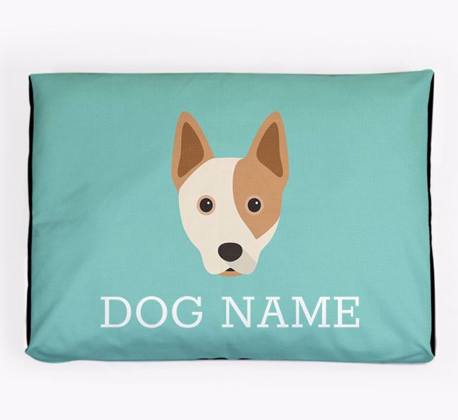 Personalised Icon Dog Bed for your Australian Cattle Dog