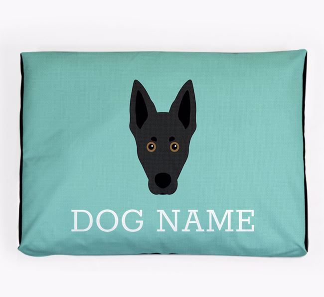Personalised Icon Dog Bed for your Australian Kelpie