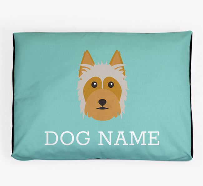 Personalised Icon Dog Bed for your Australian Silky Terrier