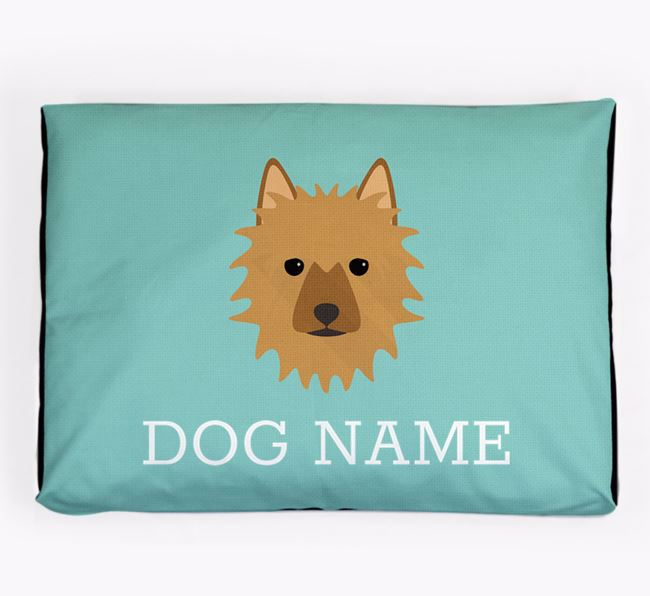 Personalised Icon Dog Bed for your Australian Terrier
