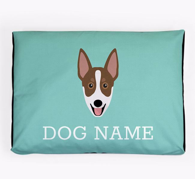 Personalised Icon Dog Bed for your Australian Working Kelpie