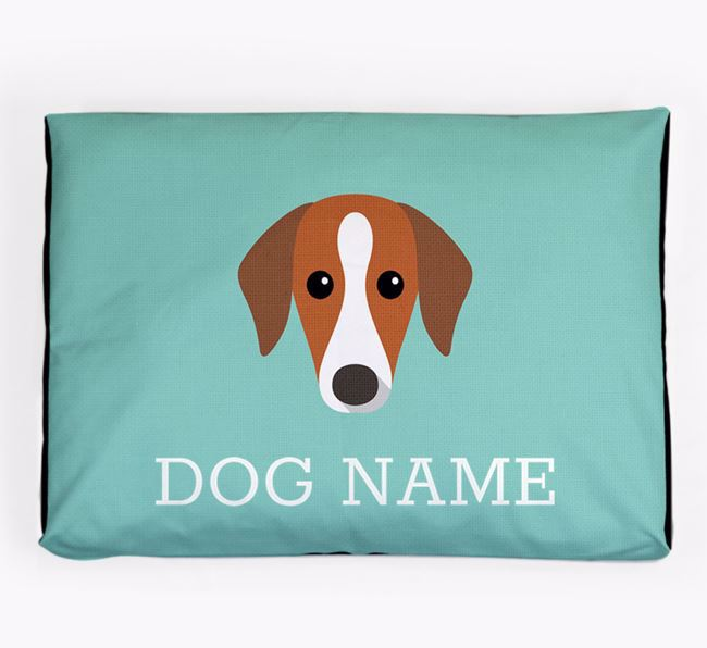 Personalised Icon Dog Bed for your Azawakh