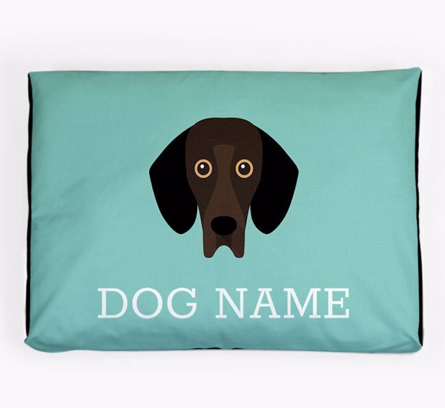 Personalised Icon Dog Bed for your Bassador