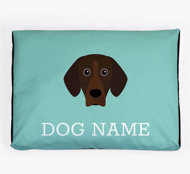 Personalised Icon Dog Bed for your Bavarian Mountain Hound