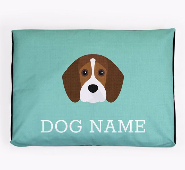 Personalised Icon Dog Bed for your Beaglier