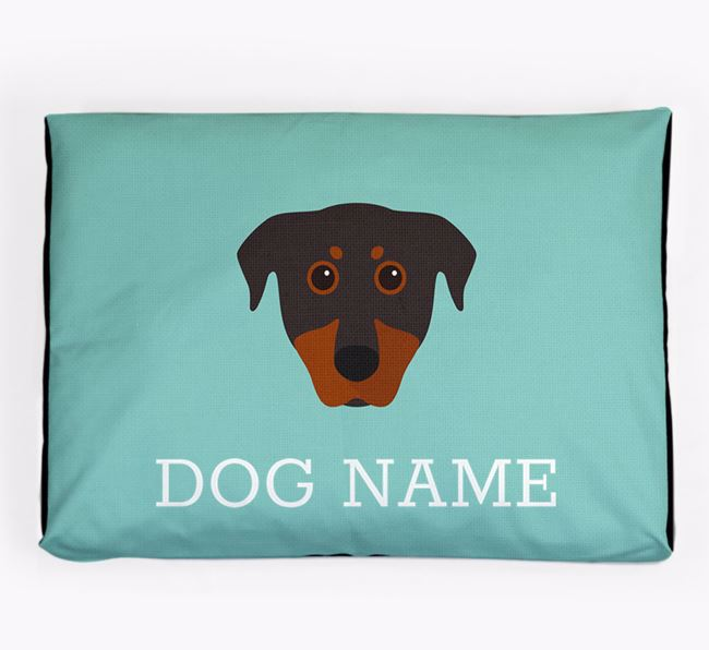 Personalised Icon Dog Bed for your Beauceron