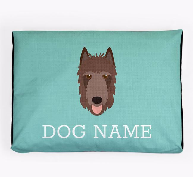 Personalised Icon Dog Bed for your Belgian Laekenois