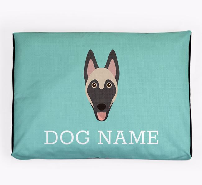 Personalised Icon Dog Bed for your Belgian Malinois