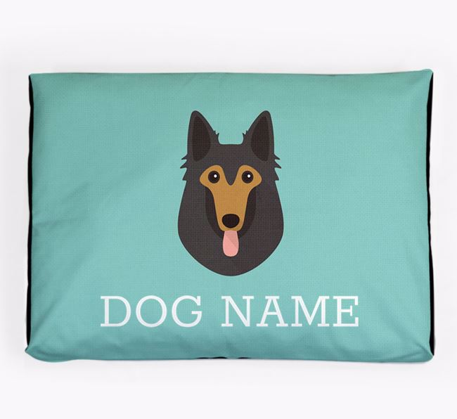 Personalised Icon Dog Bed for your Belgian Shepherd