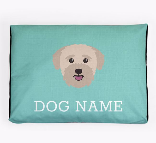 Personalised Icon Dog Bed for your Bichon Yorkie