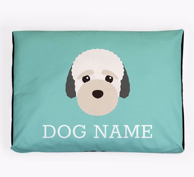 Personalised Icon Dog Bed for your Bich-poo