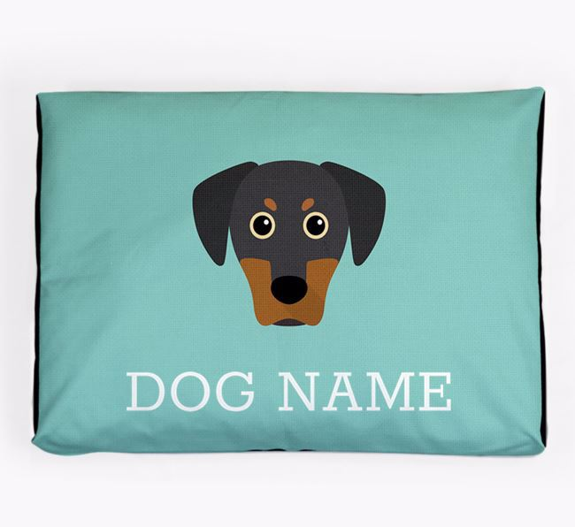 Personalised Icon Dog Bed for your Blue Lacy