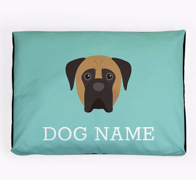 Personalised Icon Dog Bed for your Boerboel