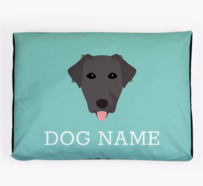 Personalised Icon Dog Bed for your Borador