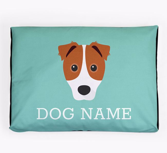 Personalised Icon Dog Bed for your Border Jack