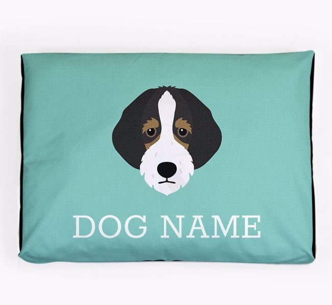 Personalised Icon Dog Bed for your Bordoodle