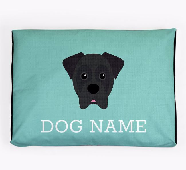 Personalised Icon Dog Bed for your Boxer