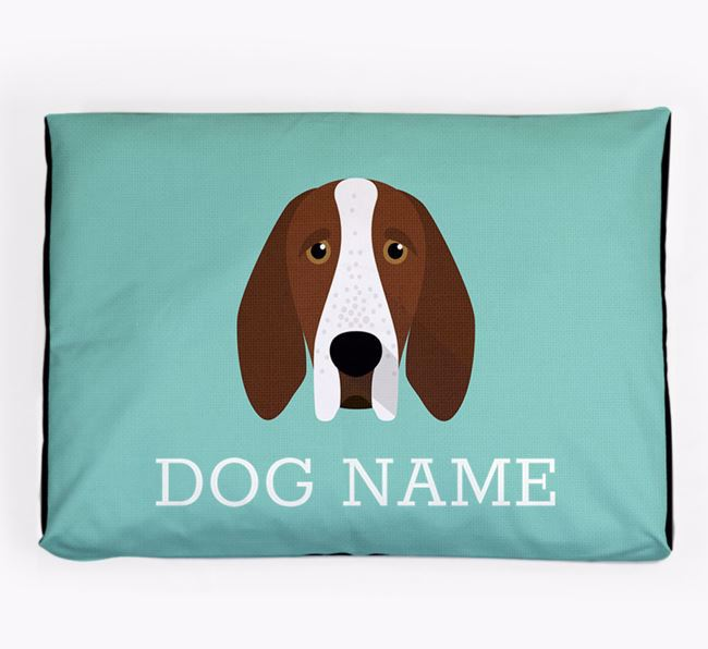 Personalised Icon Dog Bed for your Bracco Italiano