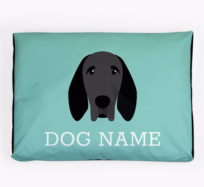 Personalised Icon Dog Bed for your Braque D'Auvergne