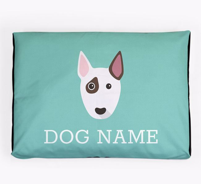 Personalised Icon Dog Bed for your Bull Terrier