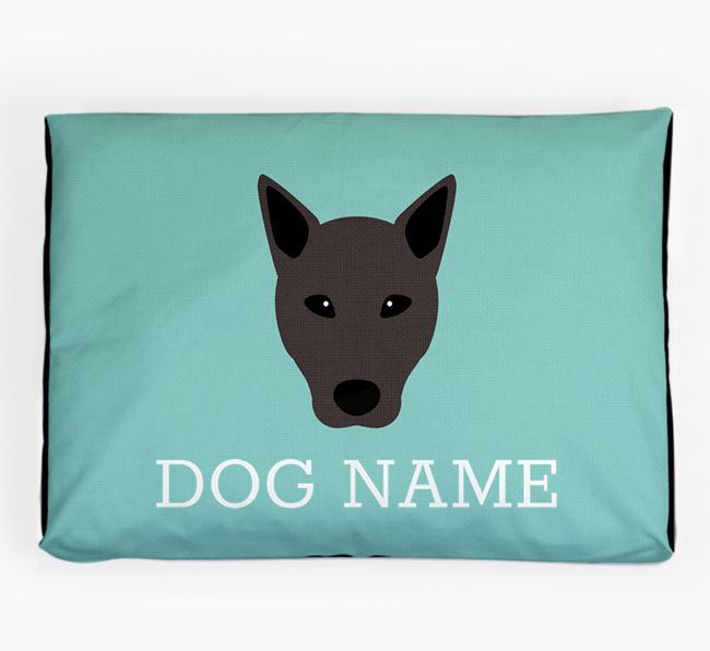 Personalised Icon Dog Bed for your Canaan Dog