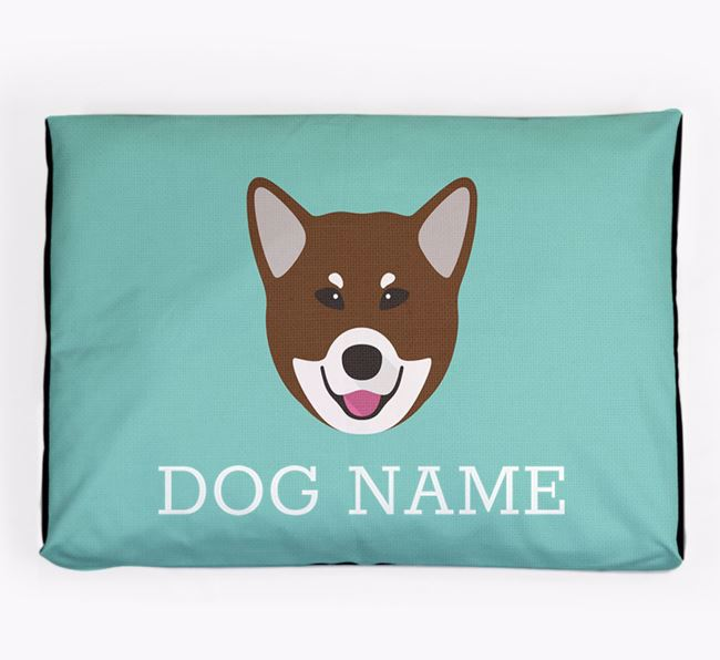 Personalised Icon Dog Bed for your Canadian Eskimo Dog
