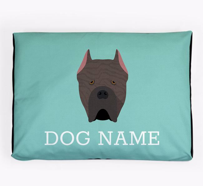 Personalised Icon Dog Bed for your Cane Corso Italiano