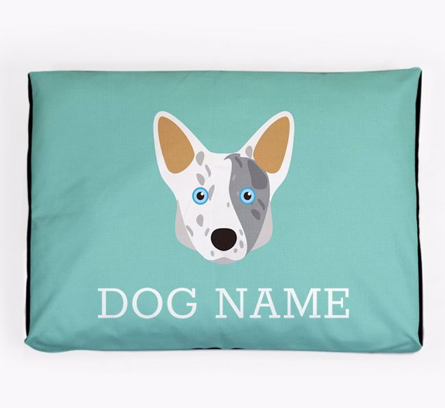 Personalised Icon Dog Bed for your Cardigan Welsh Corgi