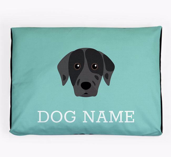 Personalised Icon Dog Bed for your Catahoula Leopard Dog