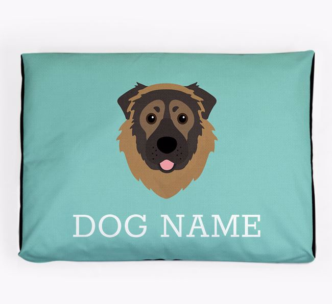 Personalised Icon Dog Bed for your Caucasian Shepherd Dog