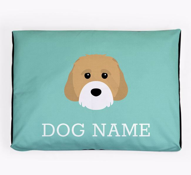 Personalised Icon Dog Bed for your Cavachon