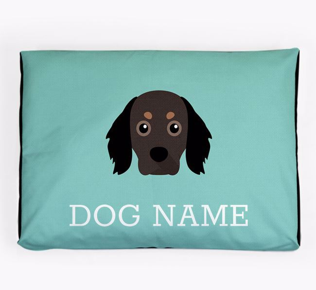 Personalised Icon Dog Bed for your Cavapom