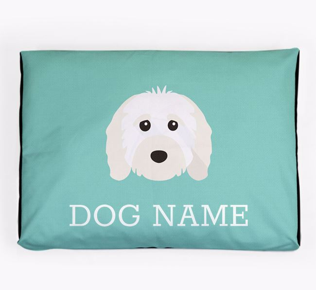 Personalised Icon Dog Bed for your Cavapoo