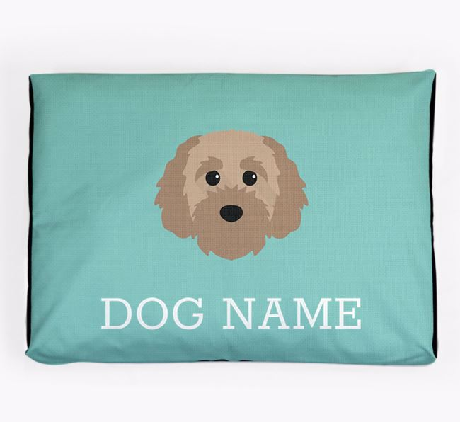 Personalised Icon Dog Bed for your Cavapoochon